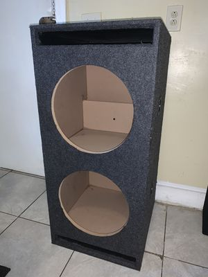 """Car Audio Dual 15"""" SPL Bass Subwoofer for Sale in Providence, RI"""