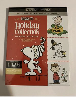 The Peanuts Holiday Collection [Includes Digital Copy] [4K Ultra HD Blu-ray] for Sale in Queens, NY