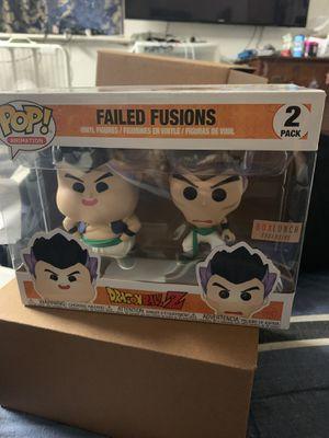 Funko pop dragon ball z failed fusions 2-pack for Sale in Eatonville, WA