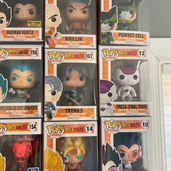 Dragon ball Z Pop Collection