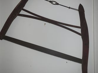 Vintage Crosscut Buck Bow Saw. for Sale in Cleveland,  OH