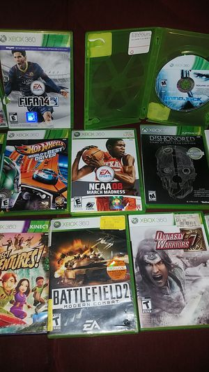 20 xbox 360 games 30 for all obo for Sale in Nashville, TN