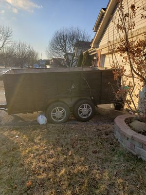 Trailer for sale 6'x12'x4' 2axle for Sale in Maywood, IL
