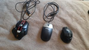 Gaming mouse wireless gaming mouse and computer mouse SET for Sale in Oklahoma City, OK