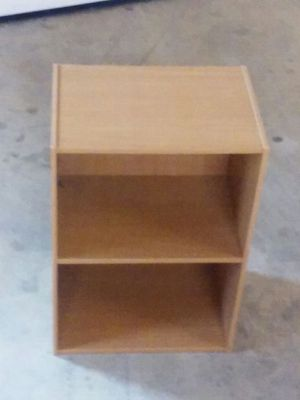 $32 QUICK SALE!!! 2 Tables {CUBE with Door & Bi-Level Shelf} for Sale in Eaton, OH
