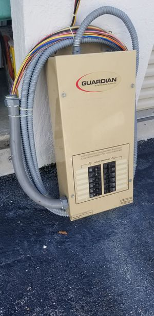 Guardian/Generac generator transfer switch for Sale in Deerfield Beach, FL