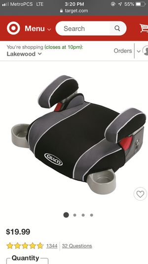 Graco® Backless TurboBooster Car Seat for Sale in Lynnwood, WA