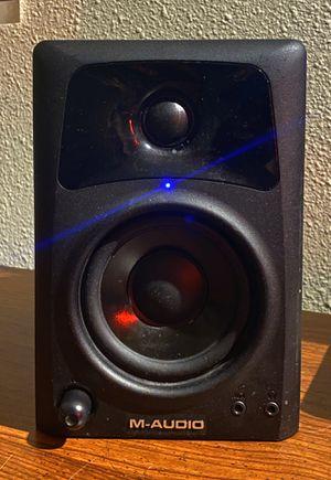 (TWO) M AUDIO AV32 SPEAKERS for Sale in Portland, OR