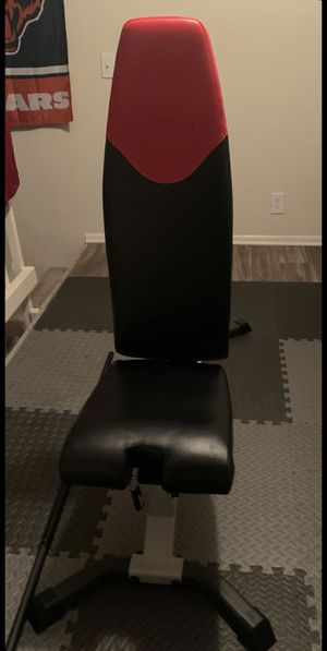Bowflex Adjustable Weight Bench (Flat, Incline, Decline) for Sale in San Marcos, CA