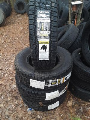 New Nitto Terra Grappler Tires 295/70r18 for Sale in Pell City, AL