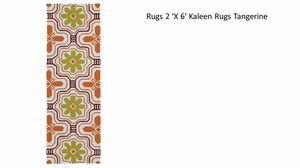 2' x 6' Kaleen Rug Tangerine (Runner) for Sale in Pembroke Park, FL