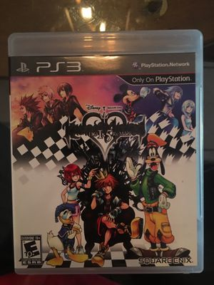Ps3 kingdom hearts 1.5 for Sale in Visalia, CA