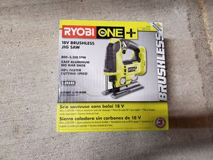 Ryobi brushless jig saw for Sale in Washington, DC