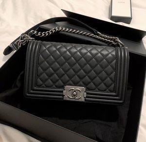 Chanel LeBoy black& silver for Sale in Boston, MA