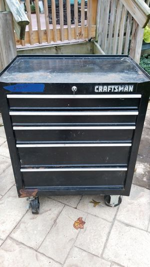 Craftman 5 drawer tool box for Sale in Jackson Township, NJ