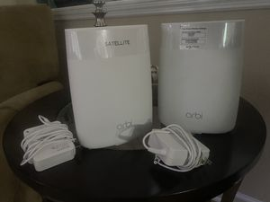 Orbi wifi mesh router RBK50/AC3000 for Sale in Orange Park, FL