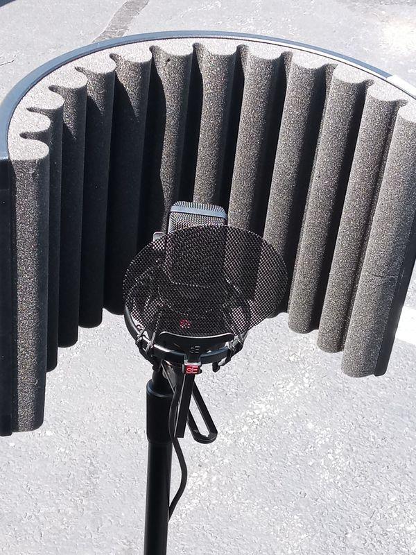 Microphone, & Guitar,