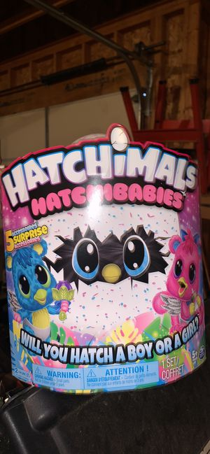 New large Hatchimals hatchbabies for Sale in Ramsey, MN