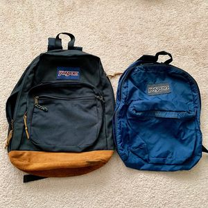 (2) JanSport backpacks BEST OFFER! for Sale in Plano, TX