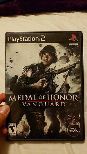 Medal of Honor Vanguard PS2 for Sale in West Covina, CA