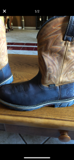 Irish setter work boots size 10mens for Sale in San Jose, CA
