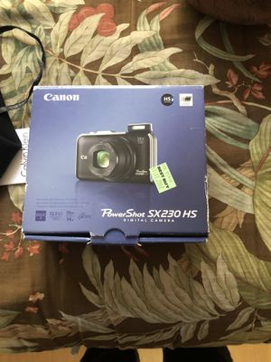 Canon camera for Sale in San Diego, CA