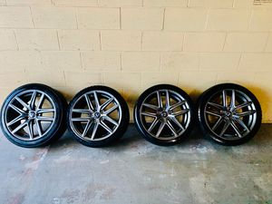 "18"" rims with tires for Sale in Lowell, MA"