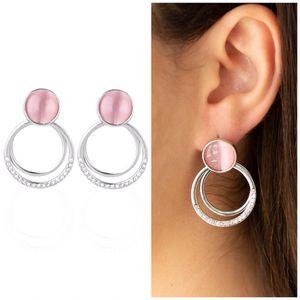 Pink CatEye Earrings for Sale in Norfolk, VA