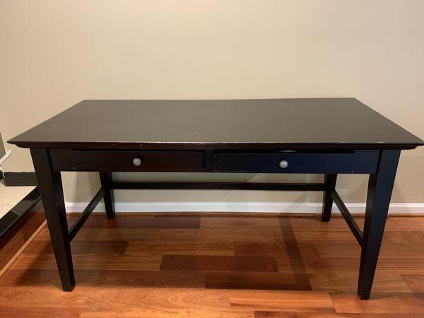 Chic black desk