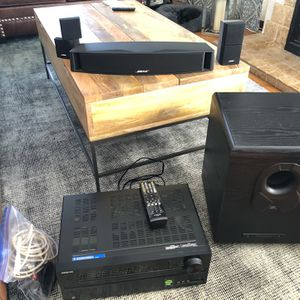 Stereo System -Bose Center With Separates & JBl Subwolfer for Sale in San Diego, CA