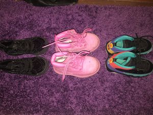 Toddler girls shoes for Sale in Durham, NC