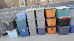20 empty storage containers for Sale in Glendora, CA