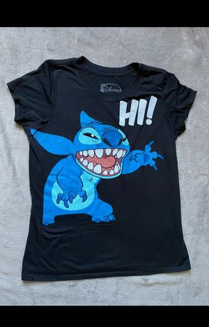 Women's Lilo and Stitch Tshirt and Shorts Set Size Medium for Sale in Abilene, TX