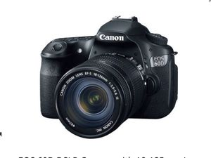 Canon 60d. Comes with 18-135mm lens, battery, and wall adapter charger. perfect condition, for Sale in Severn, MD