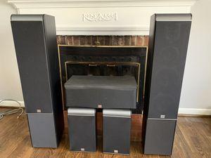 JBL ES Series 5.0 Surround Sound Speaker System for Sale in Silver Spring, MD