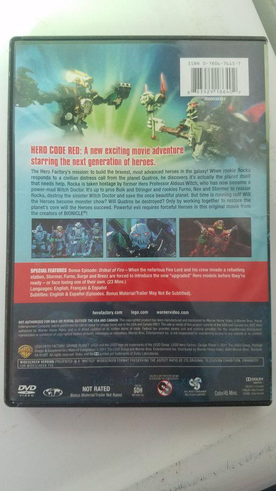 Lego, Hero Factory: Savage Planet DVD