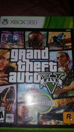 GTA V XBOX 360 GAME for Sale in Laurel, MD
