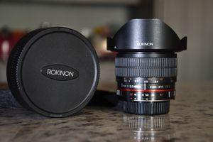 Rokinon 8mm f2.8 for Nikon F Mount for Sale in Dallas, TX