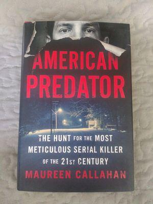 """Brand new """"American Predator"""" true crime book for Sale in Dublin, GA"""