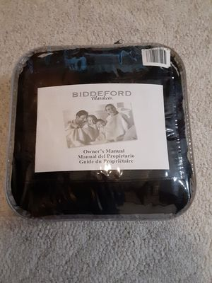 Biddeford Electric Blanket - Throw for Sale in Orland Hills, IL