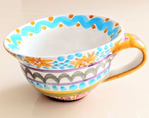 MACKENSIE-CHILDS Taylor FRAN DAISY Cup for Sale in Palm Beach Shores, FL