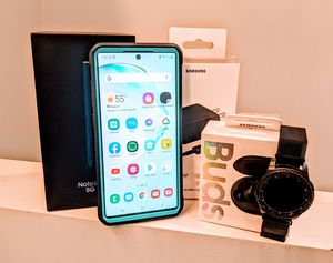 Samsung Galaxy Note 10+, Galaxy Buds, Gear S3 Frontier and extras for Sale in Beaver, PA