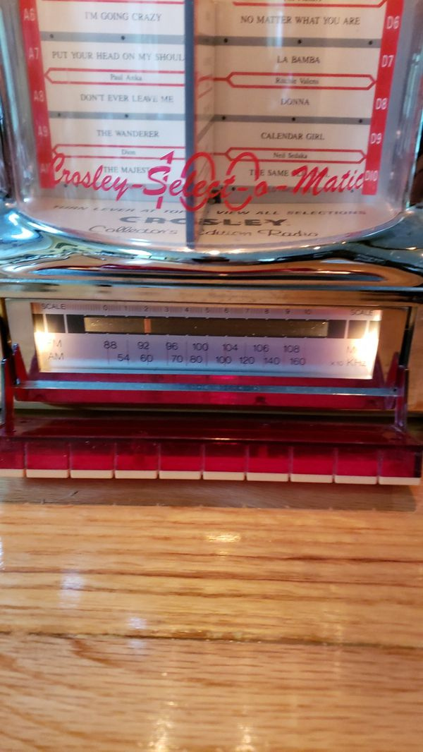 Crossley collector's edition radio for Sale in Newbury, MA - OfferUp