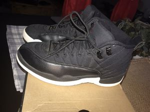 "Air Jordan Retro 12 ""Black Nylon"" size 9.5 mens for Sale in Silver Spring, MD"