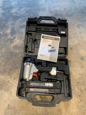 Porter cable finish nail gun 18 gauge for Sale in Anaheim, CA