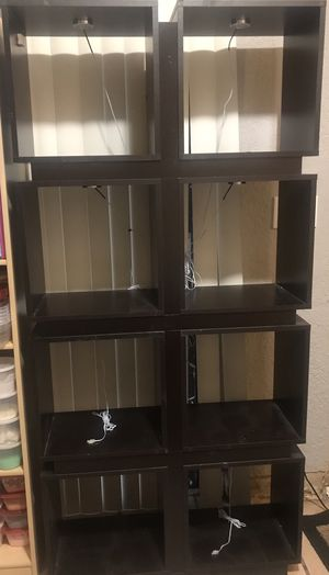 Cube shelves with LED lights for Sale in Miami, FL