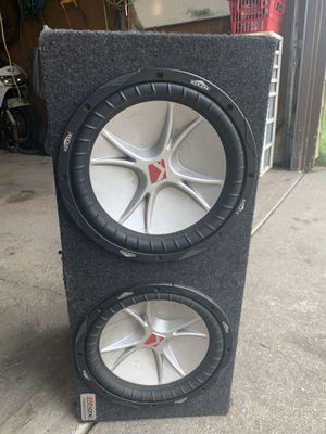 Kicker Subwoofer Speaker for Sale in Glenwood, IL
