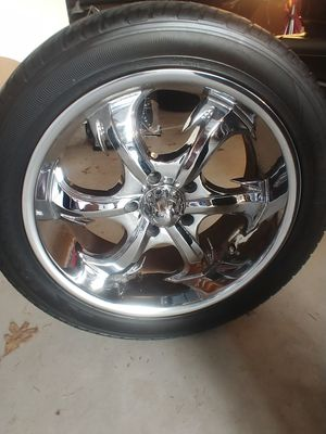 20 inch chrome rims for sale for Sale in Hammond, IN