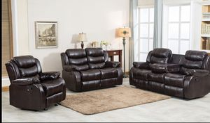 Furniture living room sofa loveseat and the chair for Sale in Garland, TX