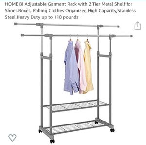Adjustable Garment Rack for Sale in Maple Valley, WA